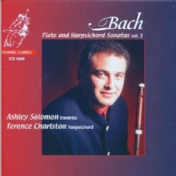 Ashley Solomon - Bach:Flute and Harpsichord Volume 2