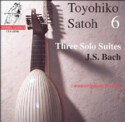 Toyohiko Satoh - Bach,J.S.:Three Solo Suites