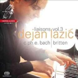 Dejan Lazic - Bach/Britten: Liaisons Vol. 3