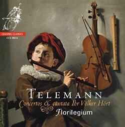 Florilegium - Telemann: Concertos & Cantata Ihr Volker Hort
