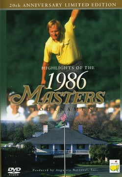 Highlights Of The 1986 Masters Tournament: 20th Anniversary (DVD)