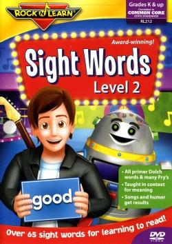 Rock 'N Learn: Sight Words Level 2 (DVD)