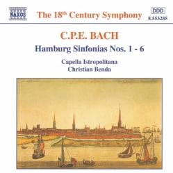 Capella Istropolitan - C.P.E. Bach:Hamburg Sinfonias Nos.1-6
