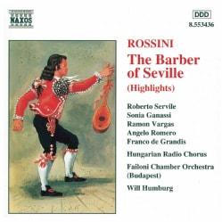 Various - Rossini:Barber of Seville