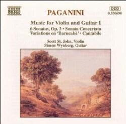 Niccolo Paganini - Paganini: Music for Violin and Guitar Vol 3