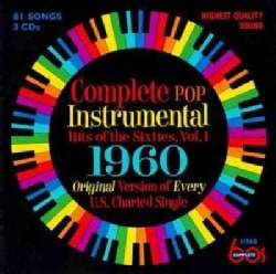 Various - Complete Pop Instrumental Hits Of The Sixties, Volume 1: 1960