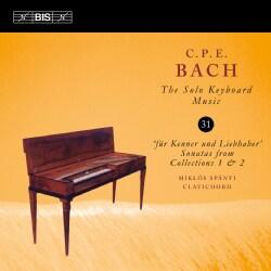 Miklos Spanyi - Bach: Solo Keyboard Music: Vol. 31