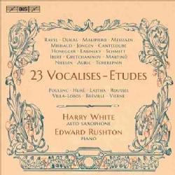 Various - 23 Vocalises-Etudes