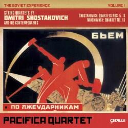 Nikolai Myaskovsky - Shostakovich/Myaskovsky: Soviet Experience: String Quartets Vol. 1