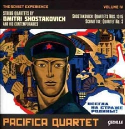 Pacifica Quartet - Shostakovich/Schnittke: The Soviet Experience, Vol. 4: String Quartets by Dmitri Shostakovich and his Cont...