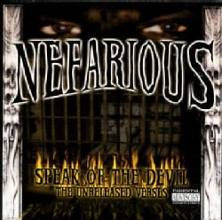 Nefarious - Speak of Da Devil (Parental Advisory)