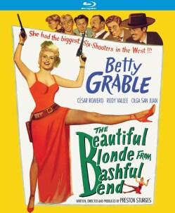 The Beautiful Blonde from Bashful Bend (Blu-ray Disc)