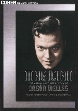 Magician: The Astonishing Life & Work of Orson Welles (DVD)