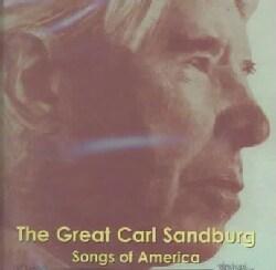 Carl Sanfdburg - Great Carl Sandburg:Songs of America