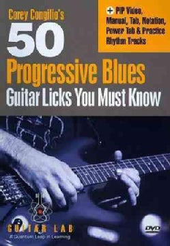 50 Progressive Blues Licks You Must Know (DVD)