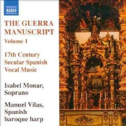 Various - The Guerra Manuscript Vol 1: 17th Century Secular Spanish Vocal Music