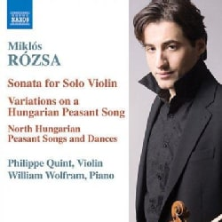 William Wolfram - Rozsa: Music for Violin and Piano: Sonata, Op. 40; Duo Op. 7