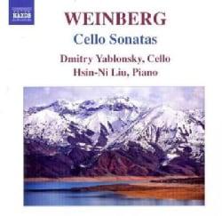 Hsin-Ni Liu - Weinberg: Cello Sonatas