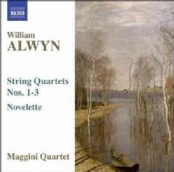 William Alwyn - Alwyn: String Quartets Nos 1-3