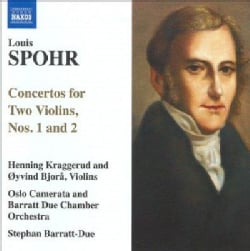 Barratt Due Chamber Orchestra - Spohr: Concertos for Two Violins, Nos 1 & 2
