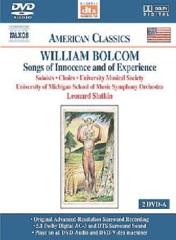 William Bolcom/Leonard Slatkin/University of Michigan School of Music Symphony... - Bolcom: Songs Of Innocence And Of Experience