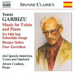 Tomas Garbizu - Garbizu: Music for Txistu and Piano