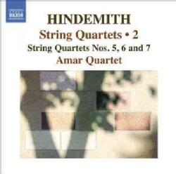 Amar Quartet - Hindemith: String Quartets: Nos. 5, 6 and 7