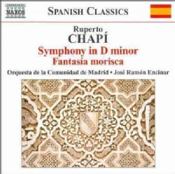 Orquesta De La Comunidad De Madrid - Chapi: Symphony in D Minor