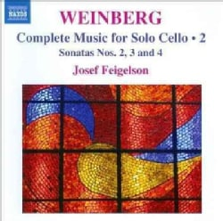 Josef Feigelson - Weinberg: Complete Music for Solo Cello Vol 2