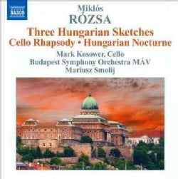 Budapest Symphony Orchestra - Rozsa: Hungarian Sketches, Cello Rhapsody