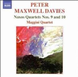 Peter Maxwell Davies - Maxwell Davies: Naxos Quartets Nos 9 & 10