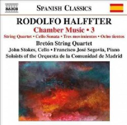 Francisco Segovia - Halffter: Chamber Music Vol. 3