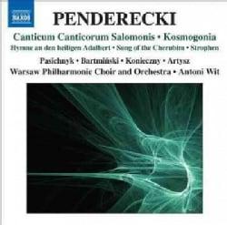 Warsaw Philharmonic Choir - Penderecki: Canticum Canticorum Salomonis/Kosmogonia