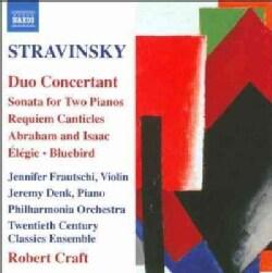 Twentieth Century Classics Ensemble - Stravinsky: Duo Concertant