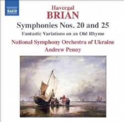 Havergal Brian - Brian: Symphonies Nos. 20 & 25