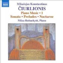 Mikalojus Konstantinas Ciurlionis - Ciurlionis: Piano Music Vol. 1