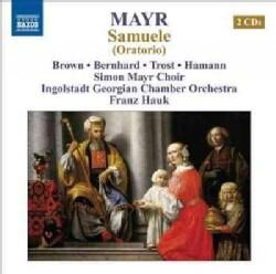 Ingolstadt Georgian Chamber Orchestra - Mayr: Samuele (Oratorio)