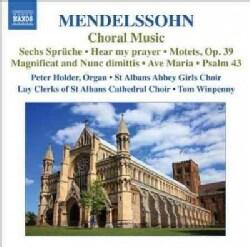 Tom Winpenny - Mendelssohn: Choral Music