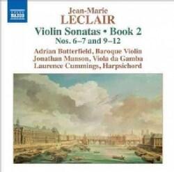 Adrian Butterfield - Leclair: Violin Sonatas/Book 2: Nos. 6-7 & 9-12
