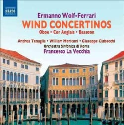 Orchestra Sinfonica Di Roma - Wolf-Ferrari: Wind Concertinos