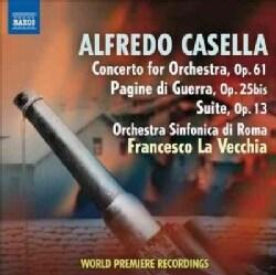 Orchestra Sinfonica Di Roma - Casella: Concerto for Orchestra/Suite in C Major/Pagine De Guerra