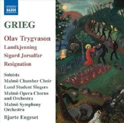 Malmo Chamber Choir - Grieg: Scenes from Olav Trygvason; Incidental Music for Sigurd Jorsalfor; Resignation
