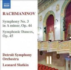 Detroit Symphony Orchestra - Rachmaninov: Symphony No. 3 in A Minor/Symphonic Dances