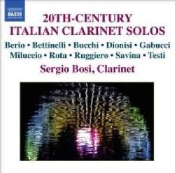 Sergio Bosi - 20st Century Italian Clarinet Solos