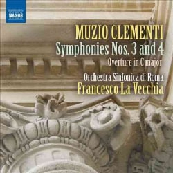 Orchestra Sinfonica Di Roma - Clementi: Symphonies Nos. 3 and 4/Overture in C Major