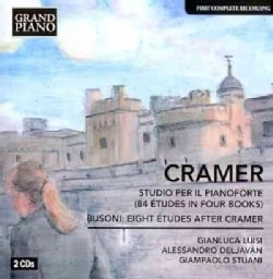 Gianluca Luisi - Cramer/Busoni: 84 Etudes: Eight Etudes after Cramer BV B 53