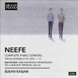 Christian Gottlob Neefe - Neefe/Beethoven: 12 Piano Sonatas; 9 Variations for Keyboard on a March by Dressler