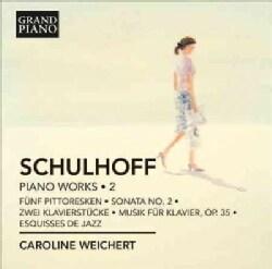 Erwin Schulhoff - Schulhoff: Piano Works, Vol. 2