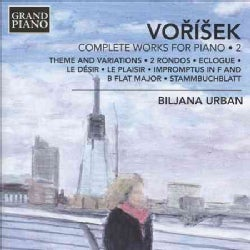 Jan Hugo Vorisek - Vorisek: Complete Piano Works: Vol. 2
