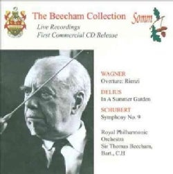 Thomas Sir Beecham - Music by Wagner, Delius & Schubert